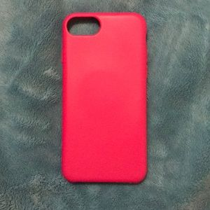Iphone 6/7 hot pink case